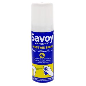 Savoy Antiseptic First Aid Spray