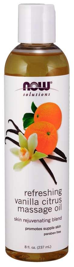Vanilla Citrus Massage Oil
