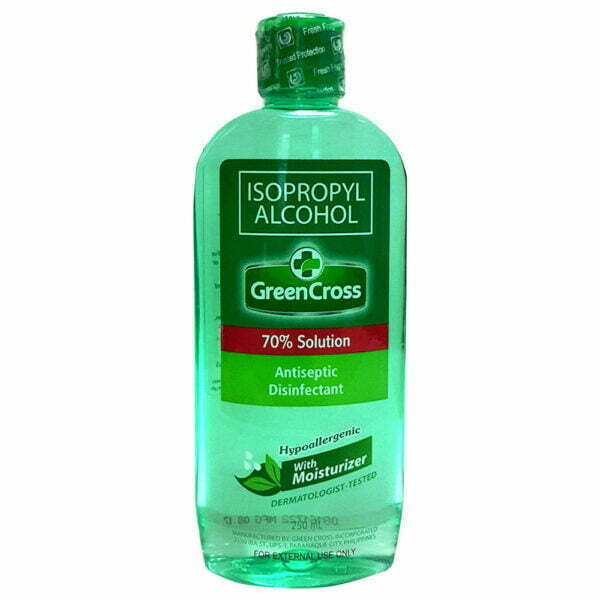Green Cross Ispropyl Alcohol 250 ml